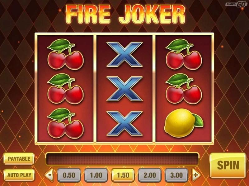 Fire Joker Peliautomaatti – Simppeli Slotti